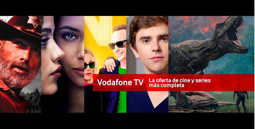 Series y películas que no puedes perderte este año con Vodafone TV