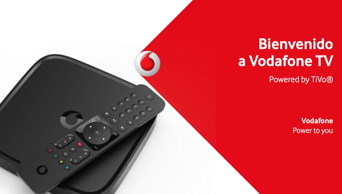 Controla Vodafone TV con la voz y a distancia